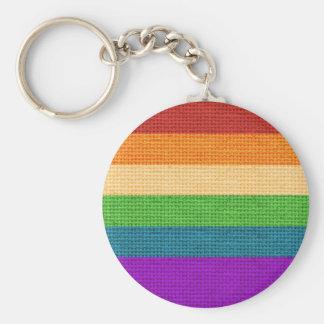 Chaveiro Serapilheira do arco-íris de LGBT