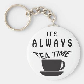 Chaveiro Seu sempre tempo do chá