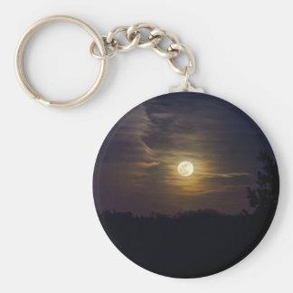 Chaveiro Silhueta da lua