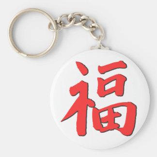 Chaveiro Símbolo chinês da boa sorte