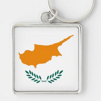 Chaveiro Símbolo da bandeira de país de Chipre por muito