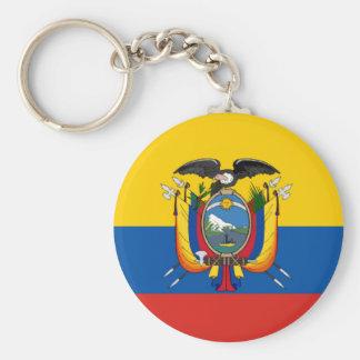 Chaveiro Símbolo da bandeira de país de Equador por muito