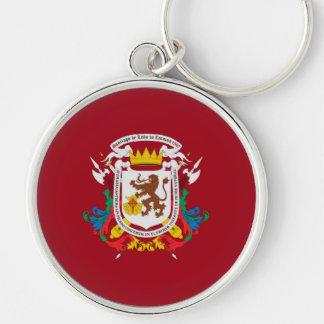 Chaveiro símbolo de venezuela da bandeira da cidade de