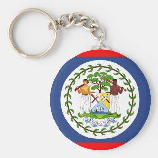 Chaveiro Símbolo do país da bandeira de Belize