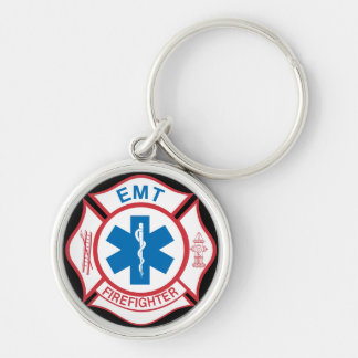 Chaveiro Símbolo do sapador-bombeiro de EMT