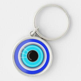 Chaveiro Símbolo esotérico da boa sorte de olho mau -