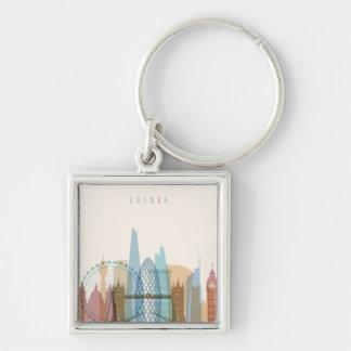 Chaveiro Skyline da cidade de Londres, Inglaterra  