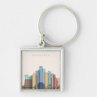 Chaveiro Skyline da cidade de Vancôver, Canadá |
