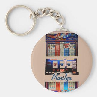Chaveiro Slot machine personalizado do estilo de Vegas