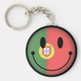Chaveiro Smiley de Portugal