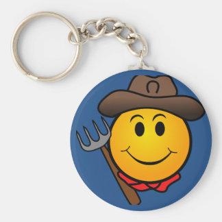 Chaveiro Smiley do vaqueiro
