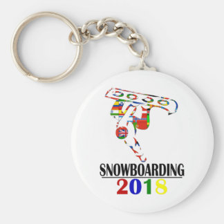 CHAVEIRO SNOWBOARDING 2018