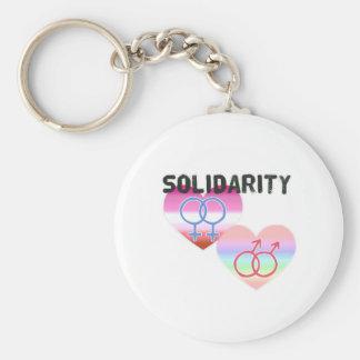 Chaveiro Solidariedade alegre lésbica