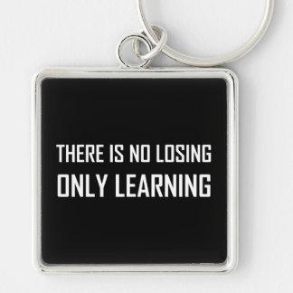 Chaveiro Somente divisa de aprendizagem não perdedora