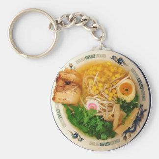 Chaveiro Sopa de macarronete dos Ramen da carne de porco