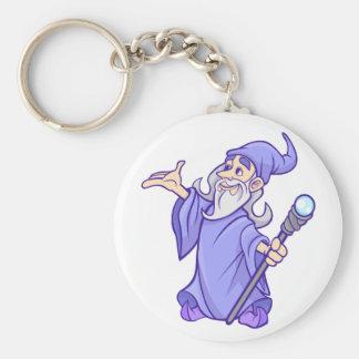 Chaveiro Sorceress roxo mágico do mágico do feiticeiro