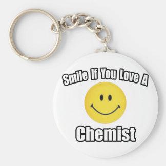 Chaveiro Sorriso se você ama um químico