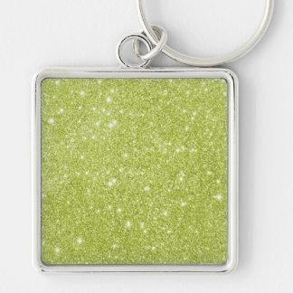 Chaveiro Sparkles do brilho do verde limão