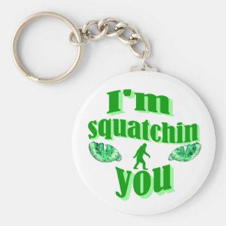 Chaveiro Squatching ido engraçado