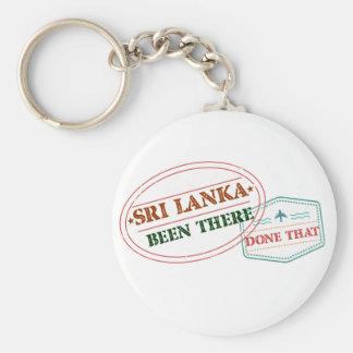 Chaveiro Sri Lanka feito lá isso