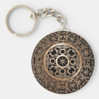 Chaveiro Steampunk antigo do bronze do metal do vaticano