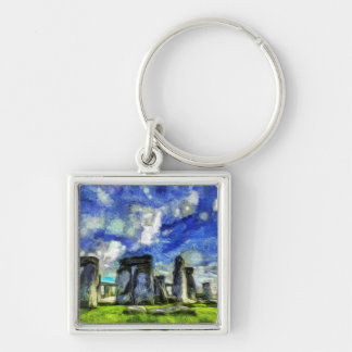 Chaveiro Stonehenge Vincent van Gogh