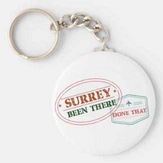 Chaveiro Surrey feito lá isso