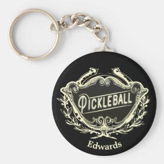 Chaveiro Tag da identificação de Pickleball