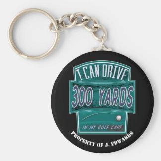 Chaveiro Tag da identificação do equipamento de golfe -
