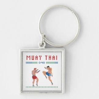 Chaveiro Tailandês de Muay do pixel