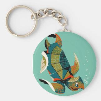 Chaveiro Tartaruga de mar australiana animador