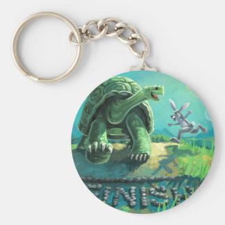 Chaveiro Tartaruga e a arte da lebre