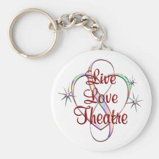 Chaveiro Teatro vivo do amor
