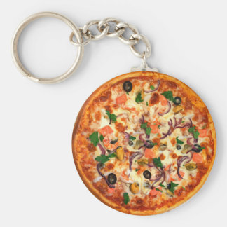 Chaveiro Tema fresco da pizza
