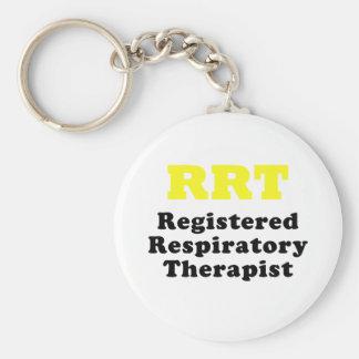 Chaveiro Terapeuta respiratório registrado RRT