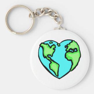 Chaveiro Terra do coração