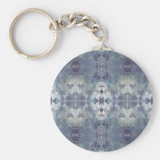 Chaveiro Teste padrão frio do Lilac