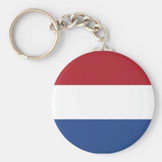 Chaveiro Teste padrão patriótico de Netherland Holland