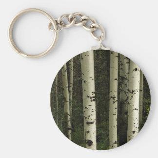 Chaveiro Textura de um retrato da floresta