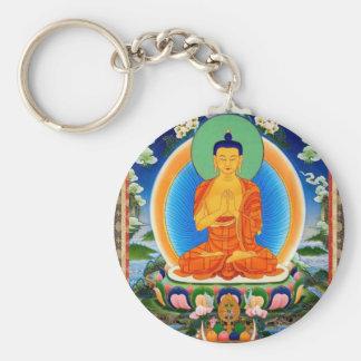 Chaveiro Tibetano Thangka Prabhutaratna Buddha
