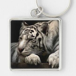 Chaveiro Tigre branco