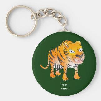 Chaveiro Tigre feliz dos desenhos animados
