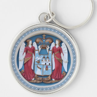 Chaveiro timiso ortodoxo do estuque do símbolo da religião