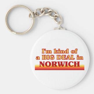 Chaveiro Tipo de I´m de uma grande coisa em Norwich