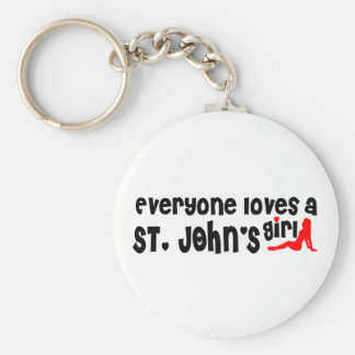 Chaveiro Todos ama a menina de um St John