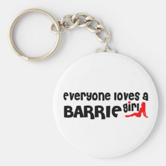 Chaveiro Todos ama uma menina de Barrie