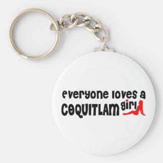 Chaveiro Todos ama uma menina de Coquitlam