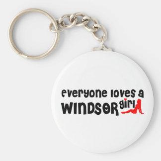 Chaveiro Todos ama uma menina de Windsor
