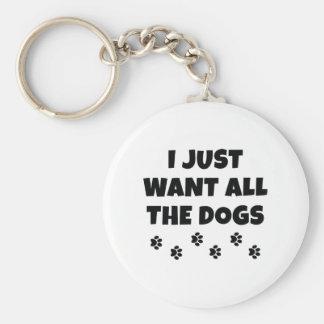Chaveiro Todos os cães