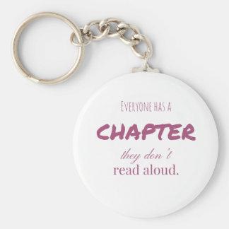 """Chaveiro """"Todos tem um capítulo. """""""
